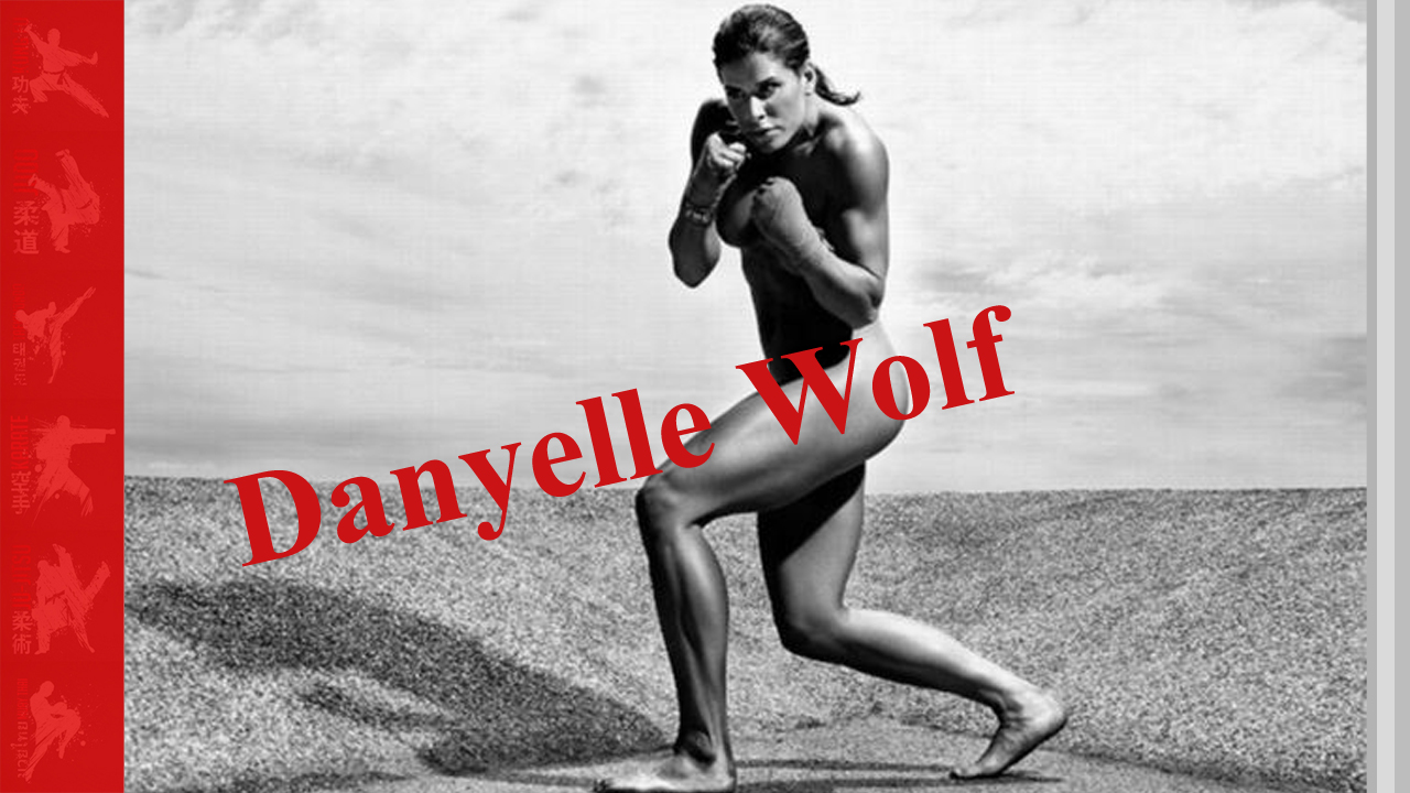 Danyelle Wolf training session