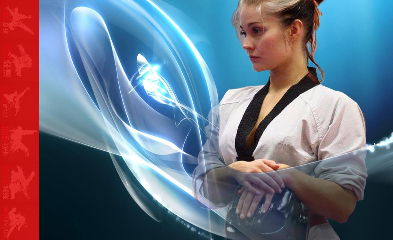 taekwondo girls