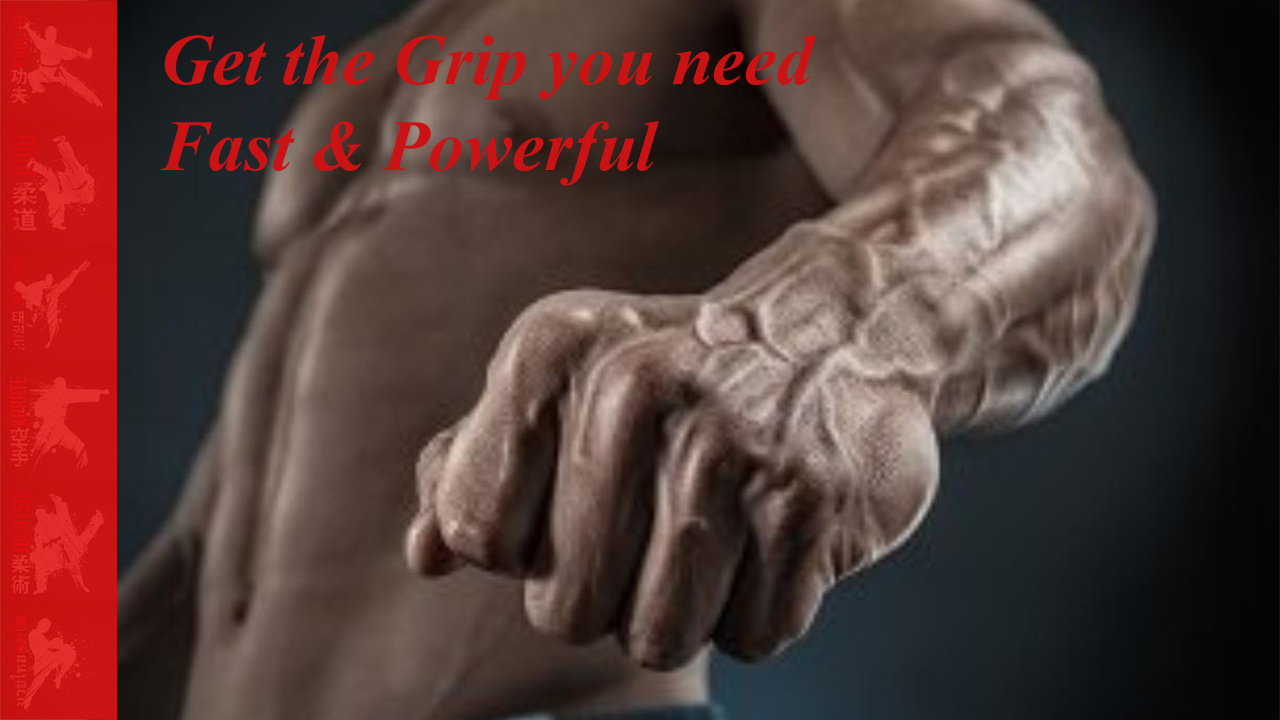 strong grip for judo and bjj
